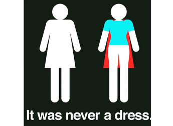 it was never a dress